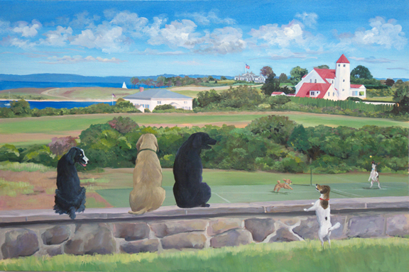 Dogs Eye View / Fishers Island