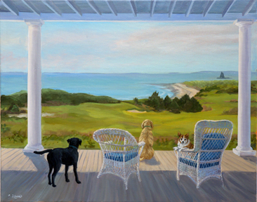Porch Tails Fishers Island